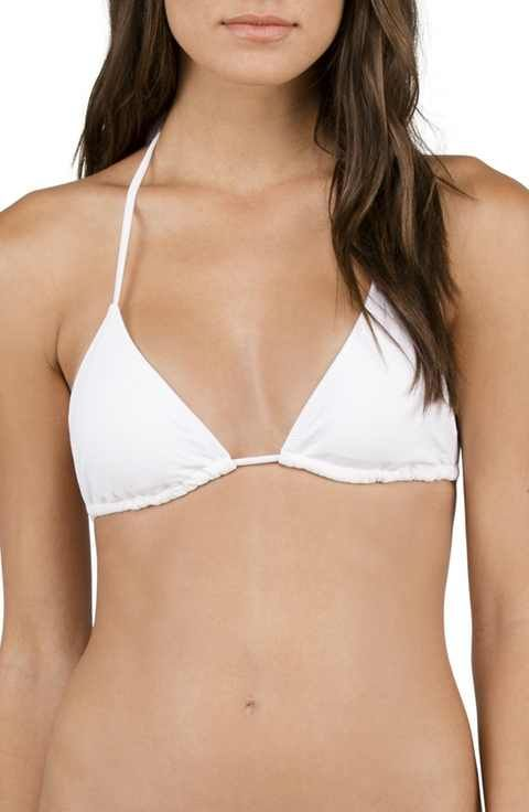 327365ebda3 Volcom Simply Solid Triangle Bikini Top