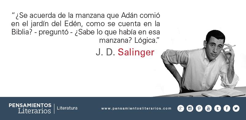 Jd Salinger Sobre El Pecado Original Literatura