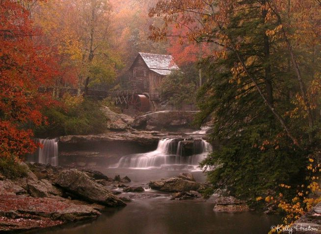 Glade Creek Grist Mill. Babcock State Park, WV
