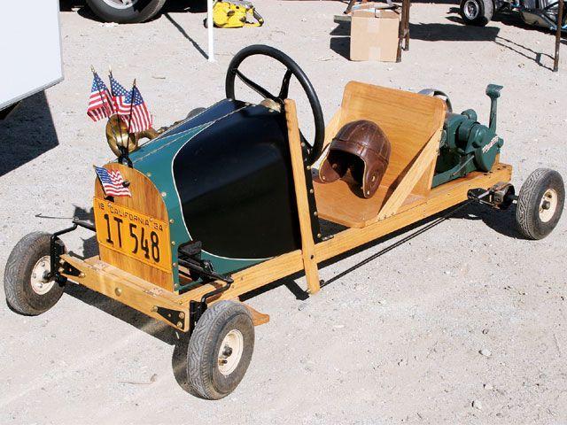 Rod & Custom Wooden Go Kart