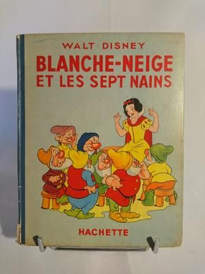 Livre Blanche Neige Et Les Sept Nains 1938 Boutique