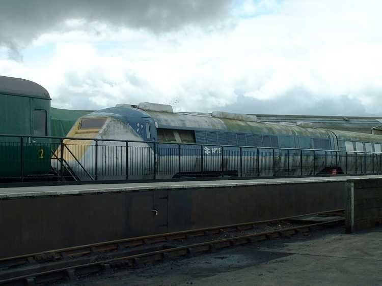 Advanced Passenger Train. National Railway Museum, York