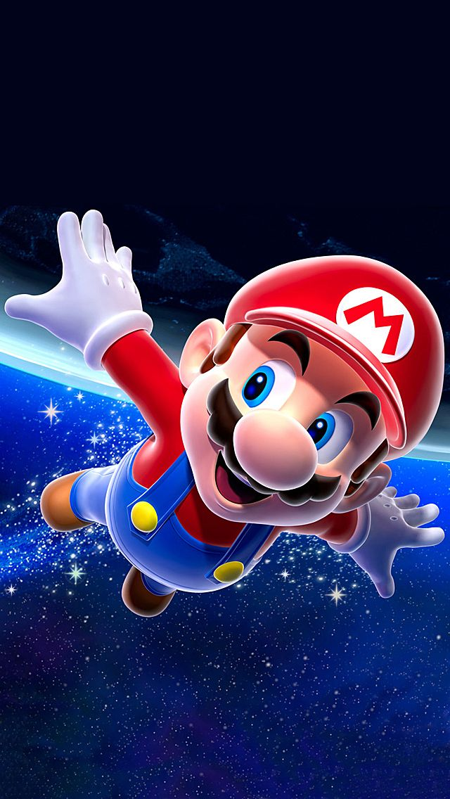 Awesome Super Mario Iphone Wallpaper
