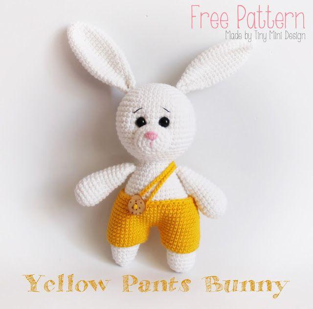 amigurumi,amigurumi bunny pattern,free pattern amigurumi,amigurumi ...