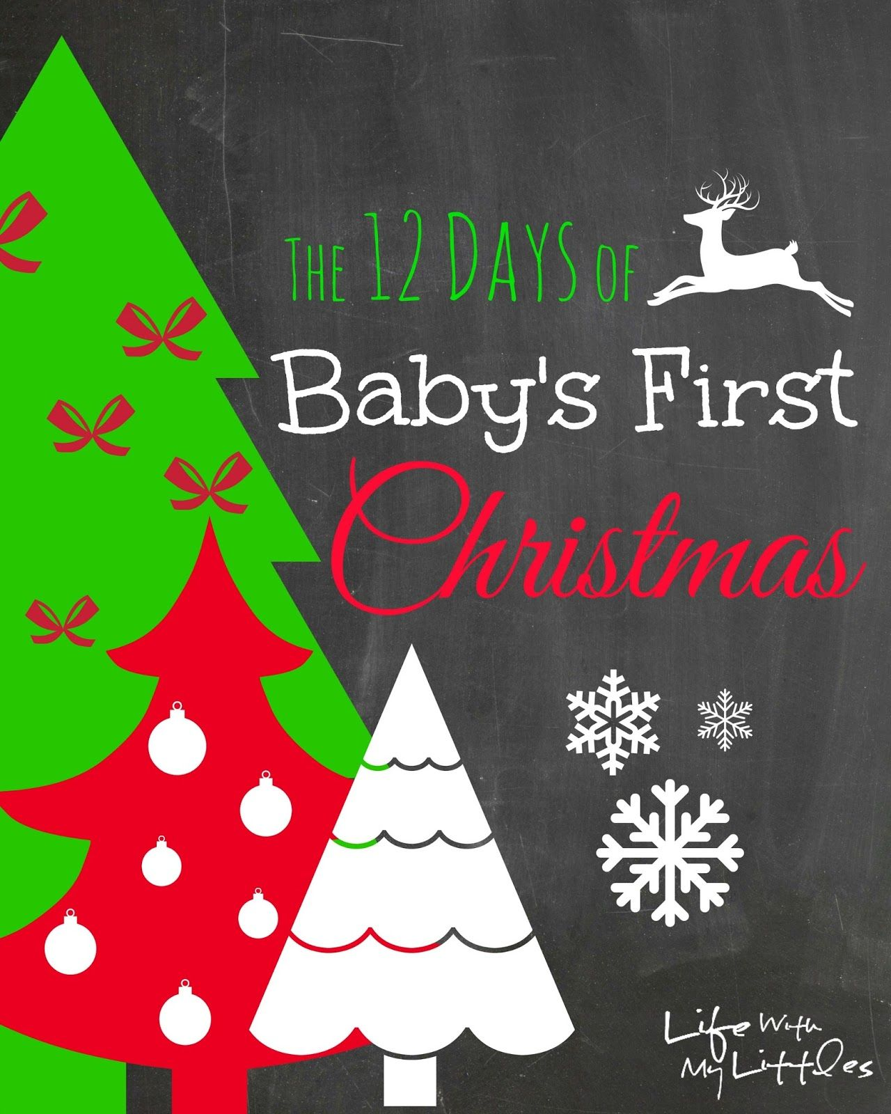 The 12 Days Of Babys First Christmas