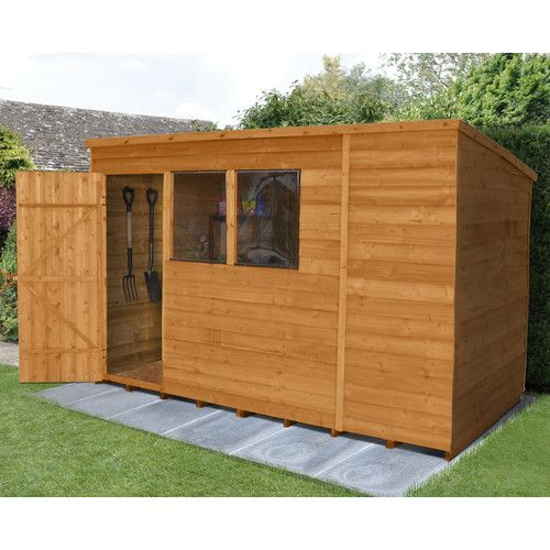 Found It At Wayfair Co Uk 10 X 6 Wooden Storage Shed Outdoor Storage Sheds