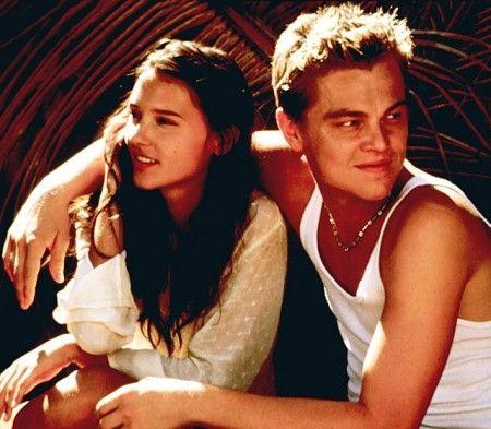 "Leonardo DiCaprio & Virginie LeDoyen in ""The Beach"