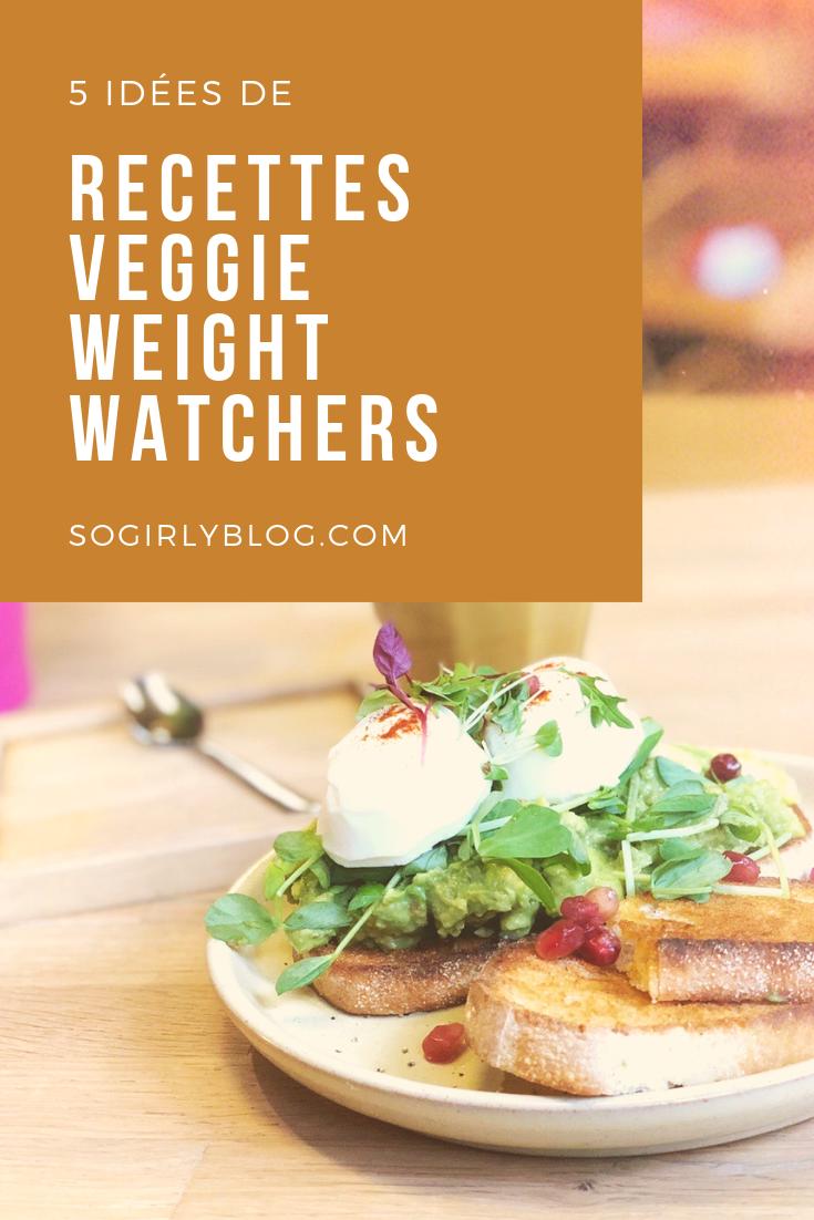 5 idées de repas végétariens Weight Watchers repérés sur Pinterest