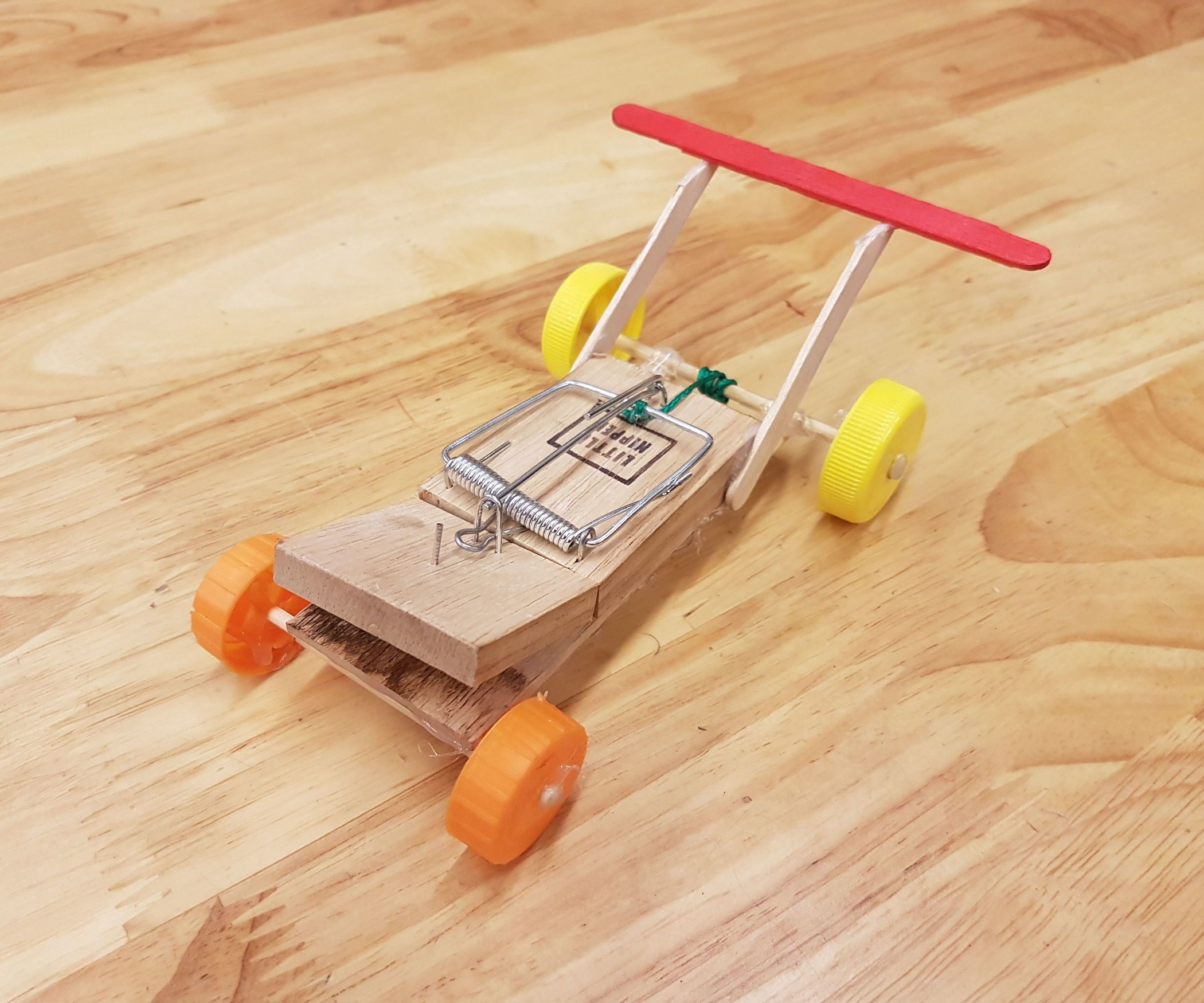 How To Build A Mouse Trap Car My How To Make Cre8ive Kid Ideas