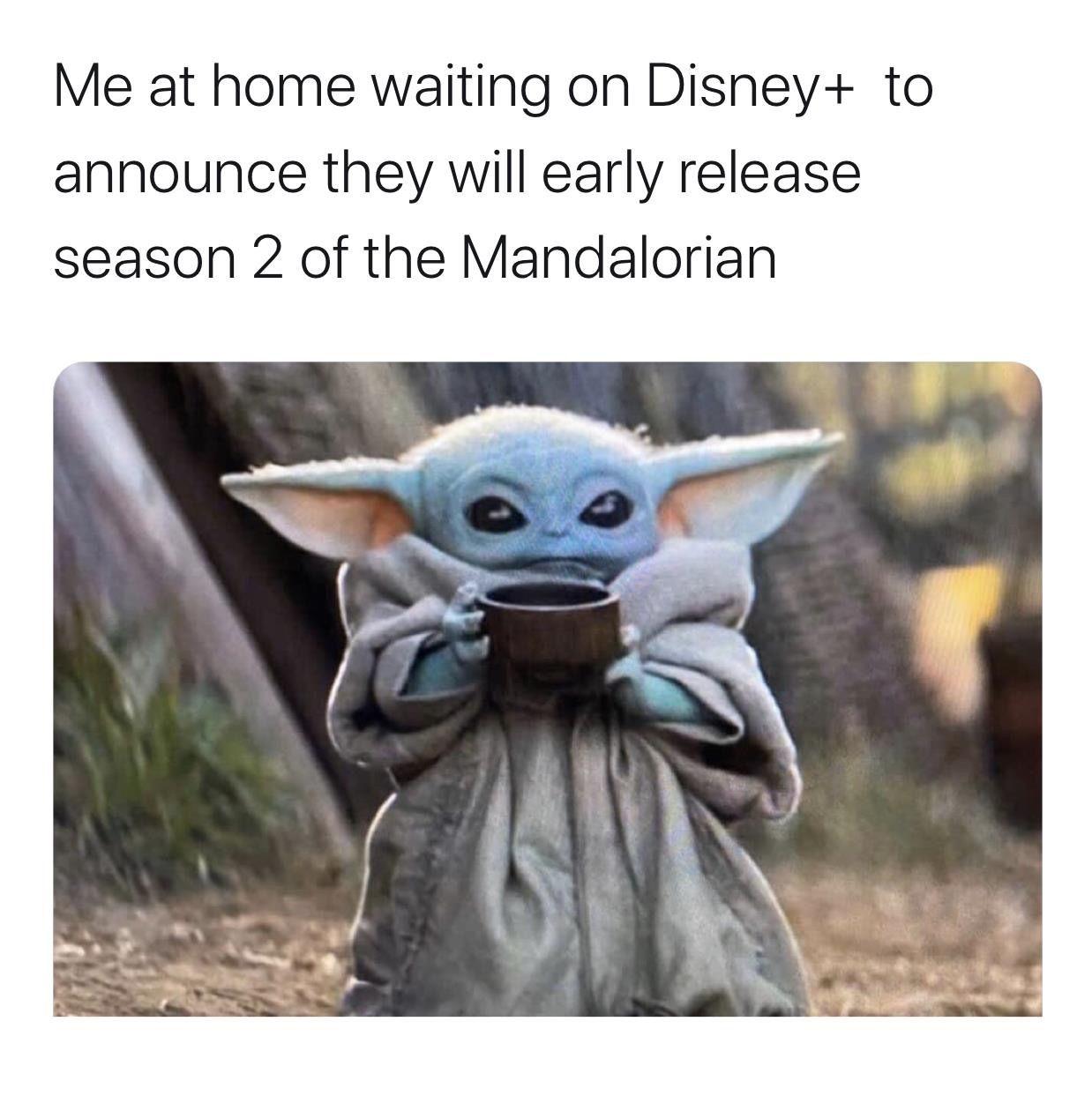 Baby Yoda Yoda Meme Funny Pictures Star Wars Memes