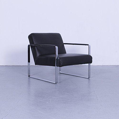 BoConcept Ross Leder Sessel Schwarz Einsitzer Stuhl Echtleder 5643   Living room designs, Room ...