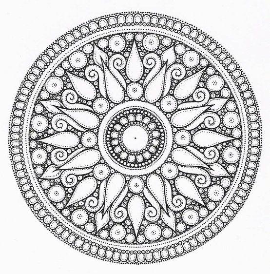 2229521 Jpg 554 562 Pixels Mandalas Mandalas Painting Mandalas Drawing
