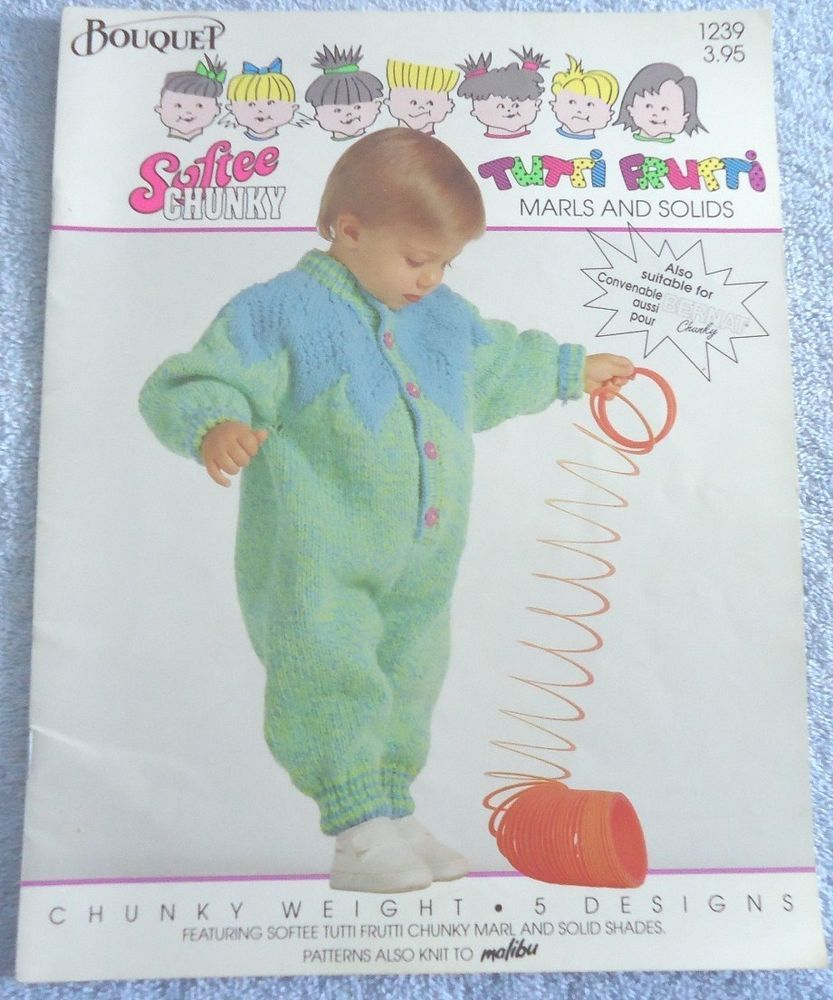 87e9b5af6 Tutti Frutti Baby Children Sweaters Knitting Patterns Bouquet No. 1239   Bouquet