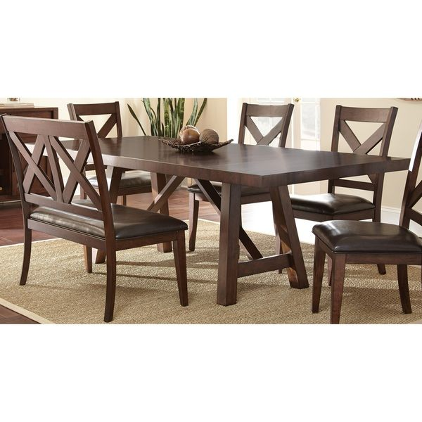 Bon Chester Dining Set By Greyson Living (Chester Dining Set), Brown