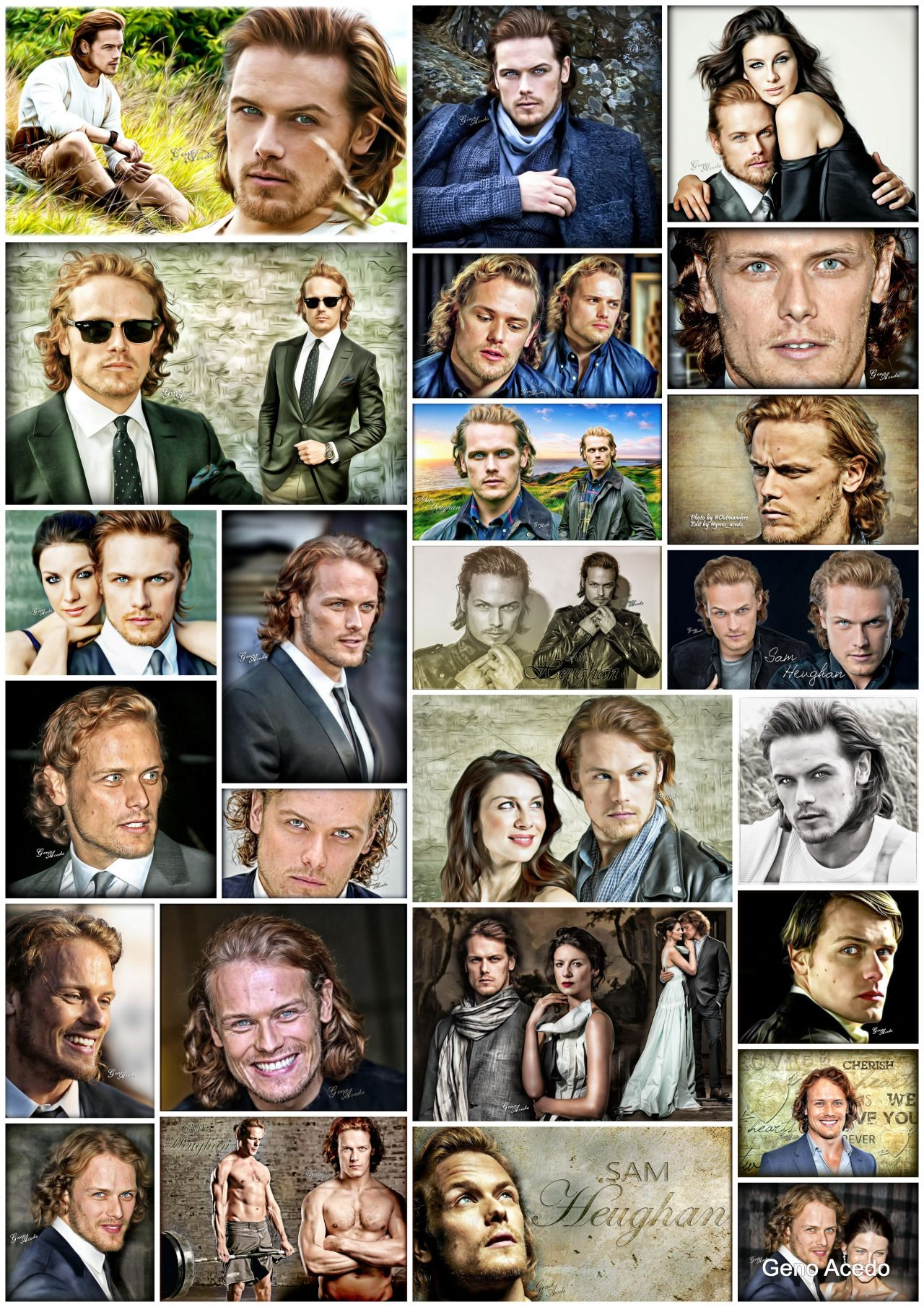 Outlander´s Editions by Geno Acedo — More than 100 editions of Sam Heughan … by Geno...
