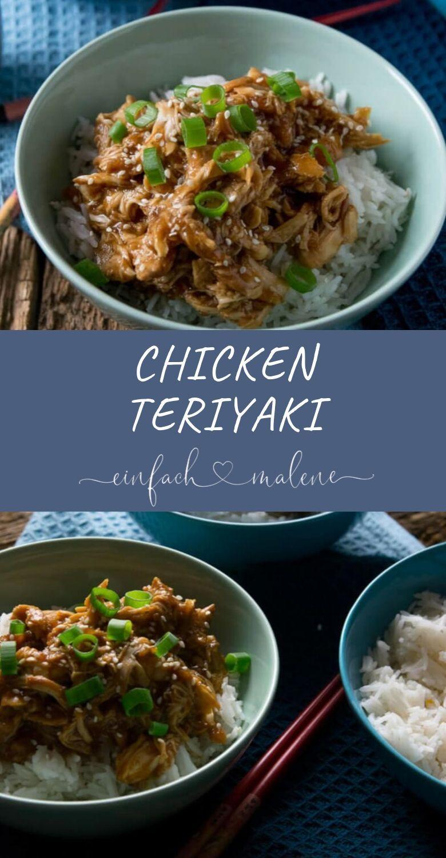 Dieses Rezept für Chicken Teriyaki ist der Hammer - zart