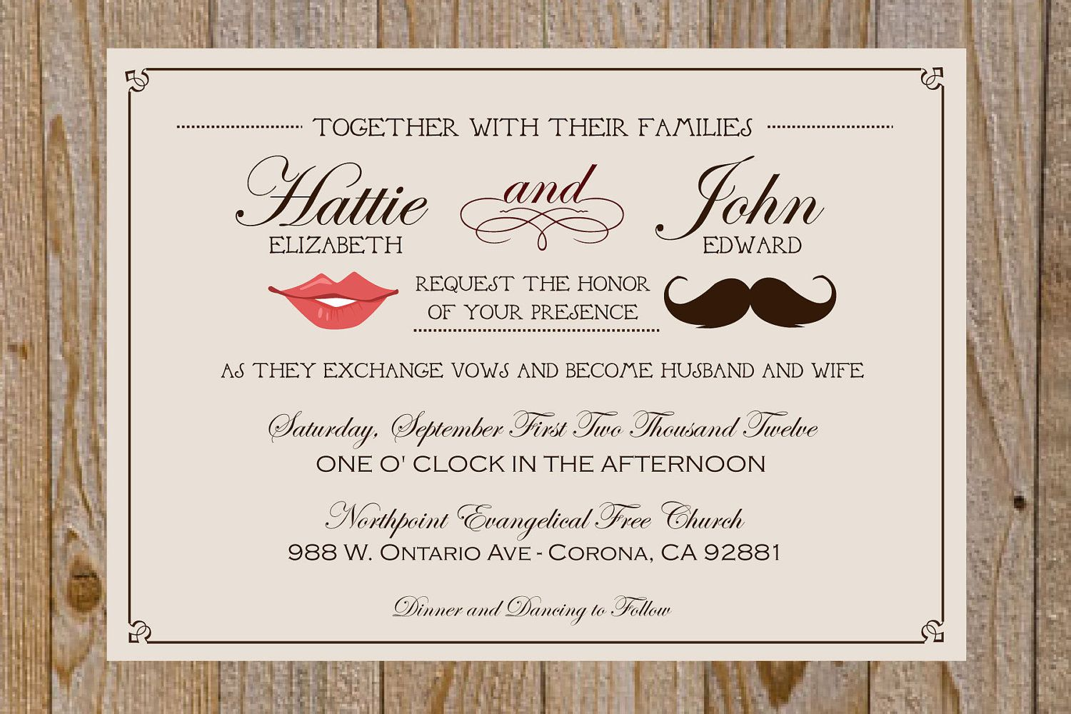 fun wedding details for the reception mustache theme wedding finds ...