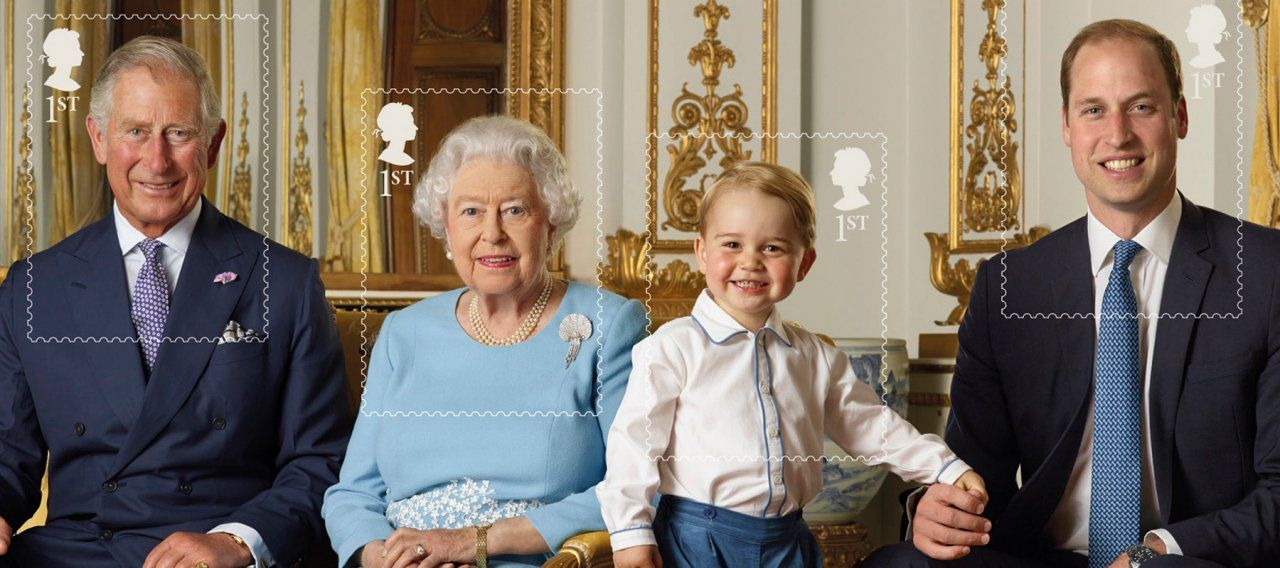 The New Royal Postage Stamp