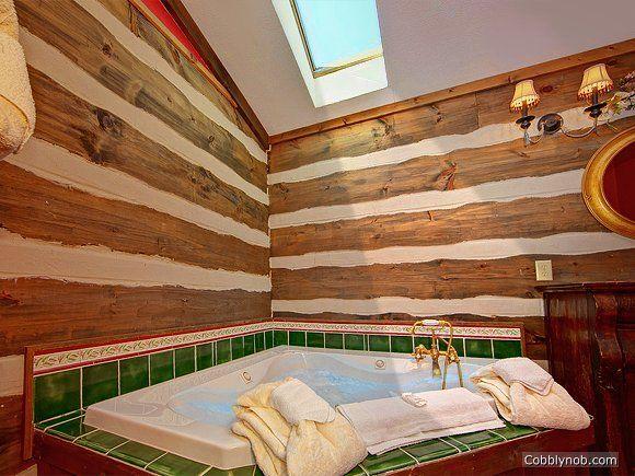 Little Bear Cabin Rental Near Pigeon Forge 1 Bedroom Cabin For Rent Indoor Jacuzzi Large Hot Tub Gatlinburg Vacation Rentals