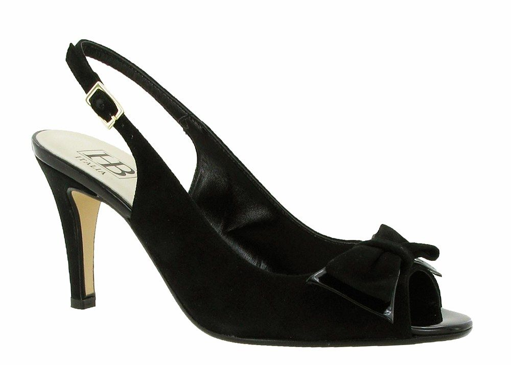 HB Shoes Patsy 437 Ladies Peep Toe Slingback Dress Sandal - Robin Elt Shoes  http://www.robineltshoes.co.uk/store/search/brand/HB-Shoes/ #Spring #Summer #SS14 #2014