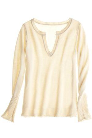 Taglioni V Cashmere Pullover::SWEATERS::CLOTHING::FINAL SALE::Calypso St. Barth