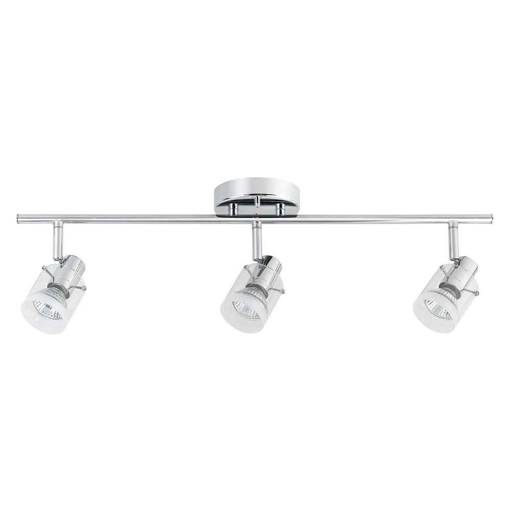 Light Chrome Track Lighting