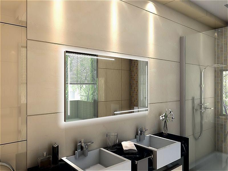 Badspiegel mit LED Beleuchtung - Ancona waschtischplatte Pinterest