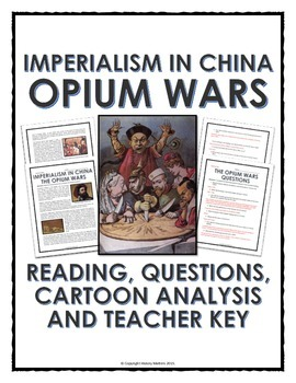 imperialism in opium wars reading questions and cartoon imperialism in opium wars reading questions and cartoon analysis