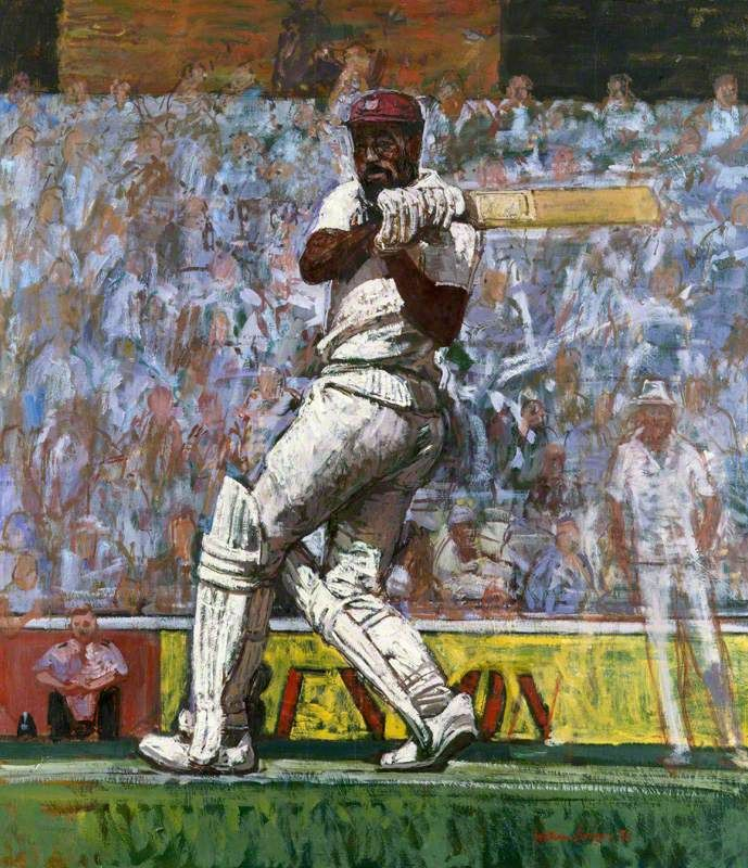 Viv Richards by William Bowyer (With images) Art uk