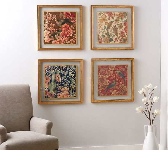 pottery barnu0027s decorative art adds character and personality to the room