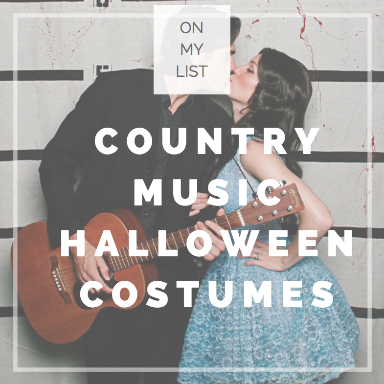 Country Music Halloween Costumes