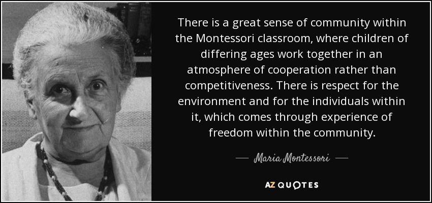 Pin By Robin Vanderjagt On Montessori Maria Montessori