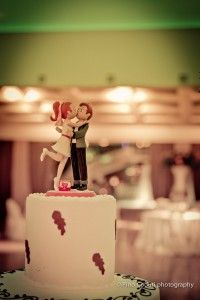 the wedding cake...very sweet | Italian wedding | Pino Coduti photography