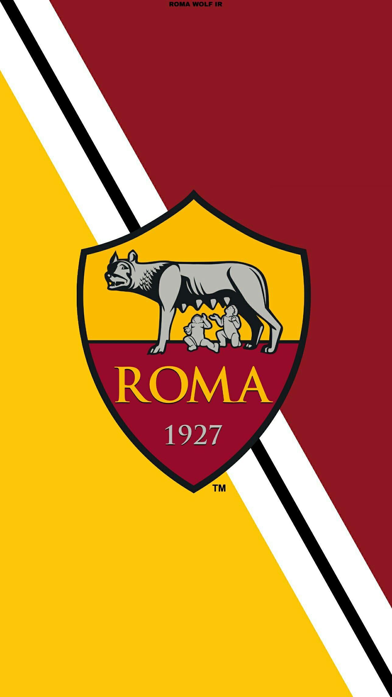 Pin di Taufik Ramdani su LOGO AS ROMA Squadra di calcio