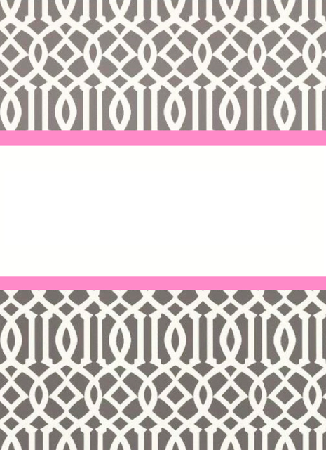 Preppy Binder Covers – Binder Cover Template