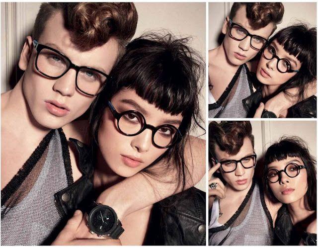 036ea5d6a45 Sid Ellisdon and Fei Fei Sun by Steven Meisel for Diesel Eyewear - Winter  2012 Campaign