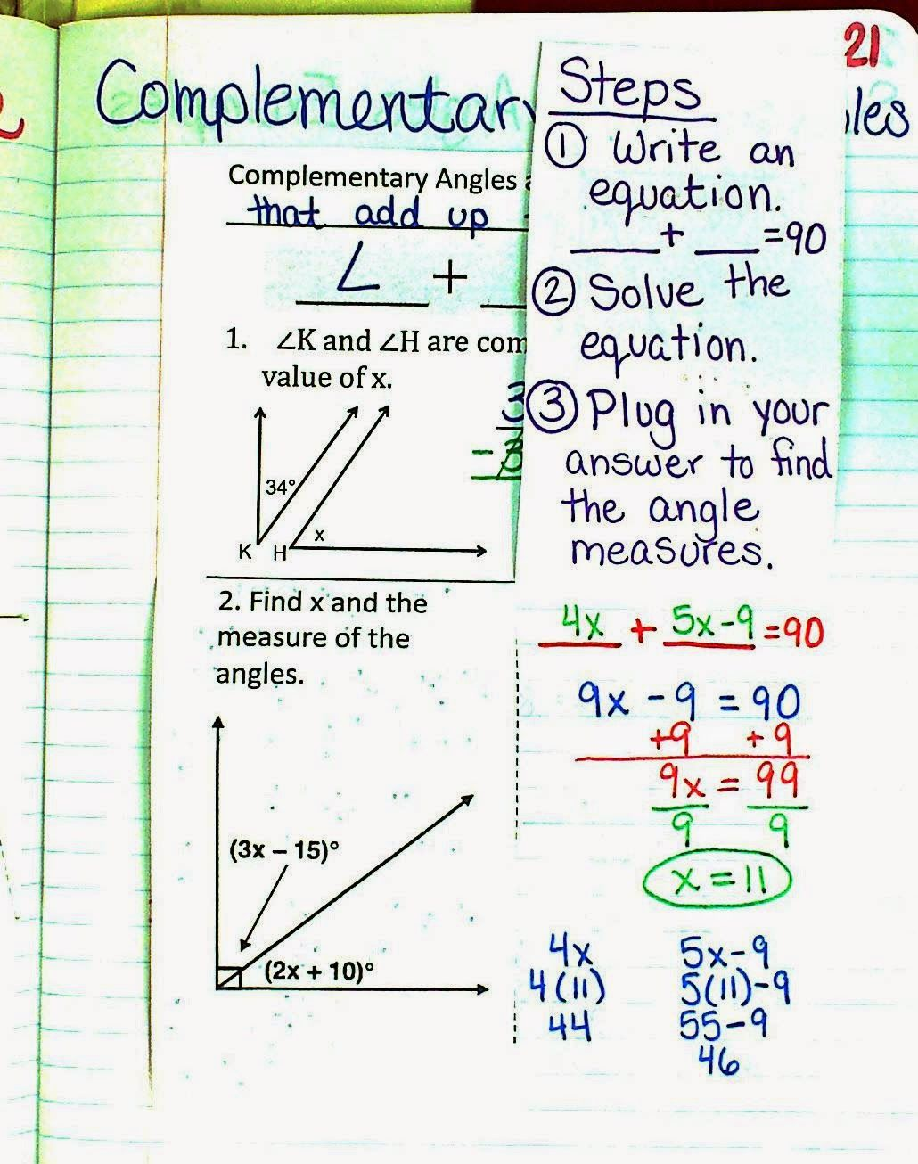 Uncategorized Complementary And Supplementary Angles Worksheet worksheet supplementary and complementary angles free 17 best images about measu