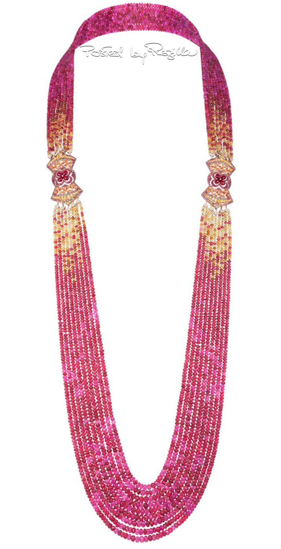 Regilla una fiorentina in california sparkling necklaces