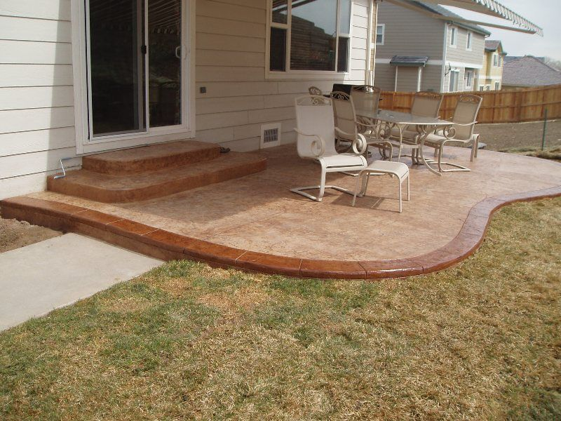 Private Residence Patio Example 5 | patios and raised beds ...