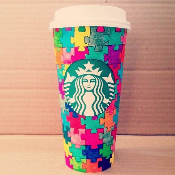 how to draw a starbucks cup