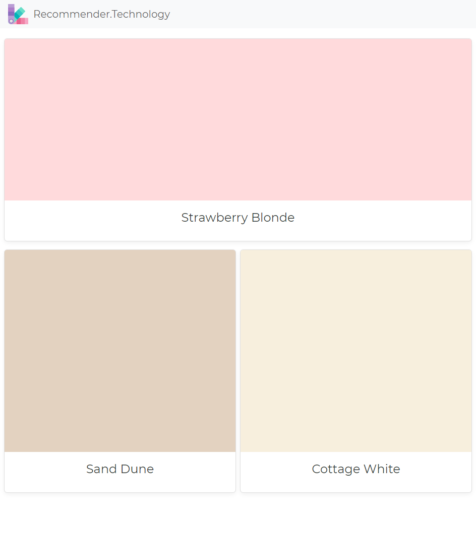 Strawberry Blonde Sand Dune Cottage White Dunn Edwards Paint
