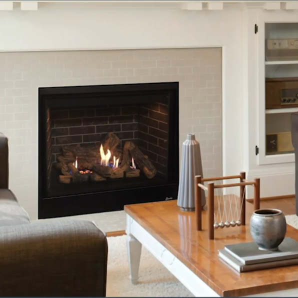 Superior 35 Inch Direct Vent Traditional Gas Fireplace Drt3535