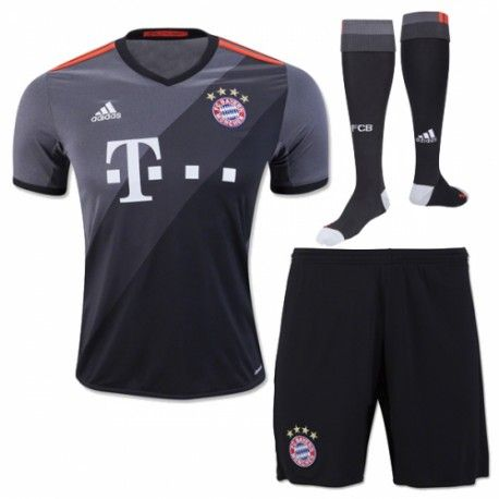 17.99 Bayern Munich Kids Away Kit 2016 2017  4788f235d78a7