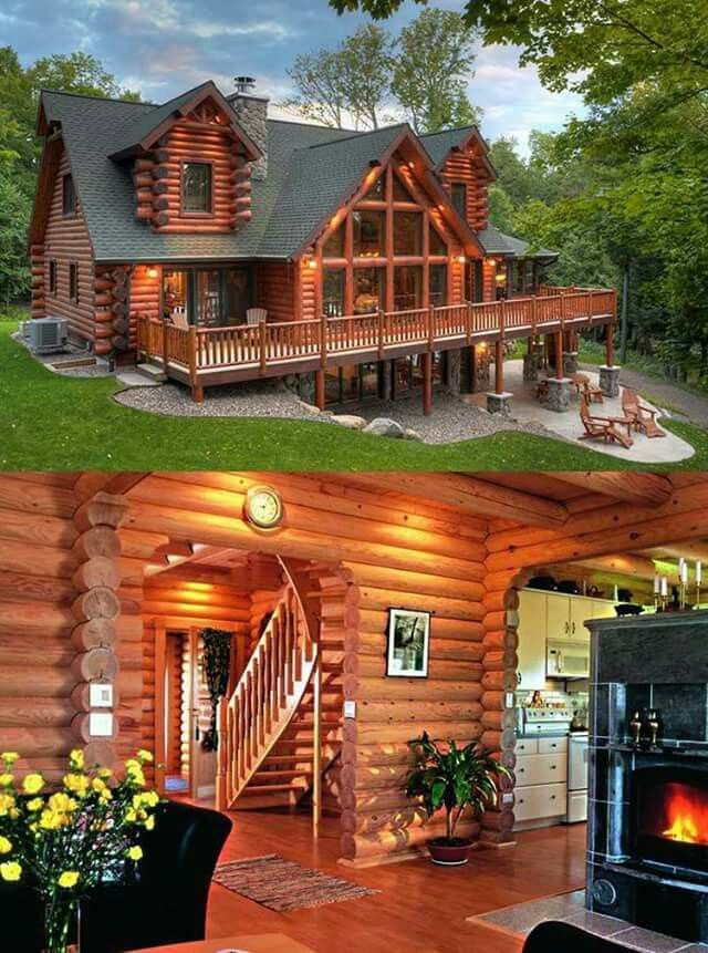 Beautiful Logcabinhomes Beautiful In 2020 Log Homes Exterior Log Homes House Plans