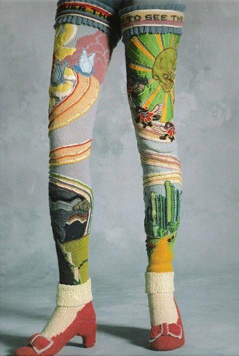 Susanna Lewis OZ socks from 1978