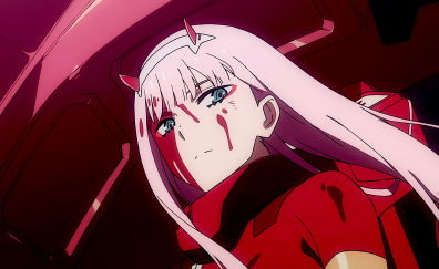 Angry Zero Two Darling In The Franxx Darling In The Franxx Zero Two Darling
