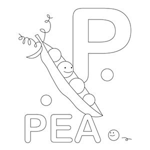 Alphabet Coloring Pages Upper