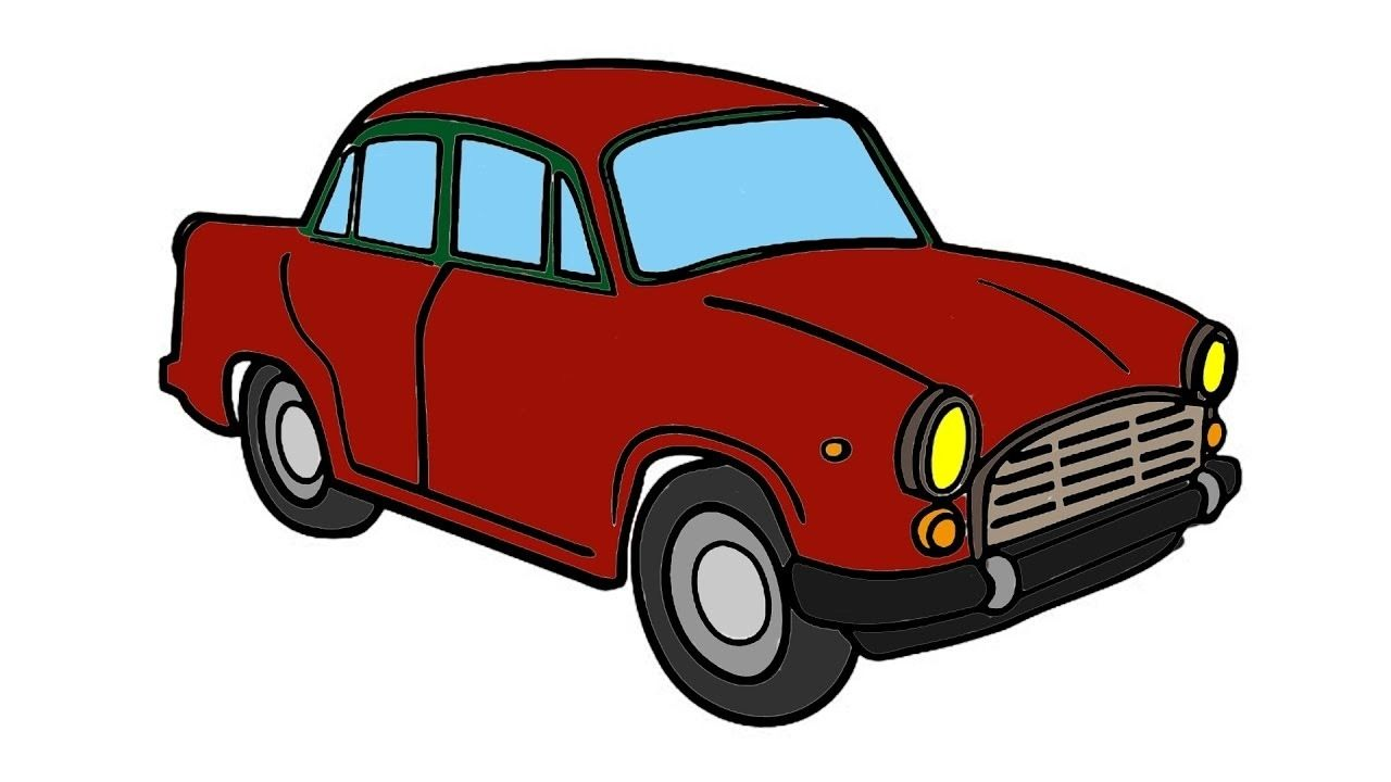 Car Drawing Color Coloring Contest Coloring Pages For Kids
