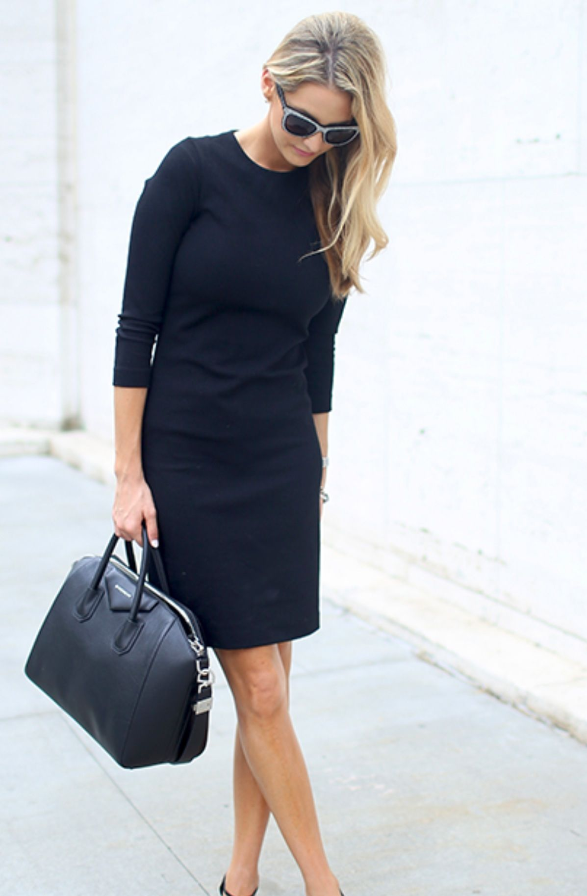 Black office dress looks pinterest black office office