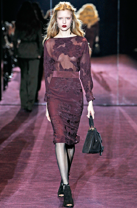 F/W 2012-2013 Gucci  Wine colors